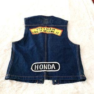 Honda Pennsylvania Denim Vest